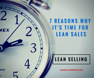 McKinsey: 7 Reasons It's Time For Lean Sales