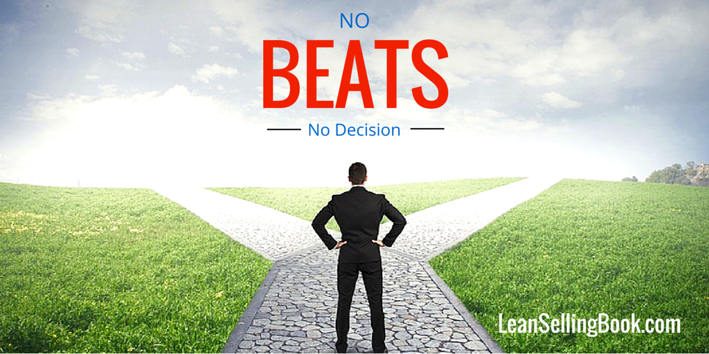 Sales Success: No Beats No Decision