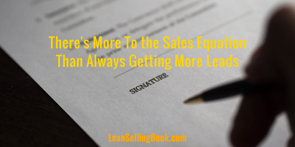 Get More Leads? There's a Better Way
