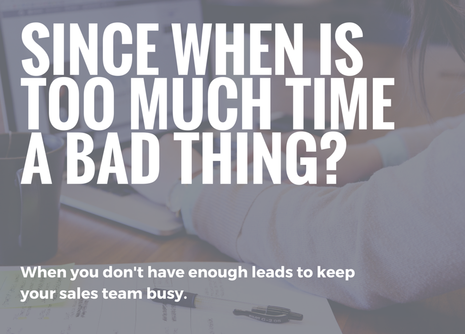 Do You Know How to Solve the Real Lean Challenge for Sales?