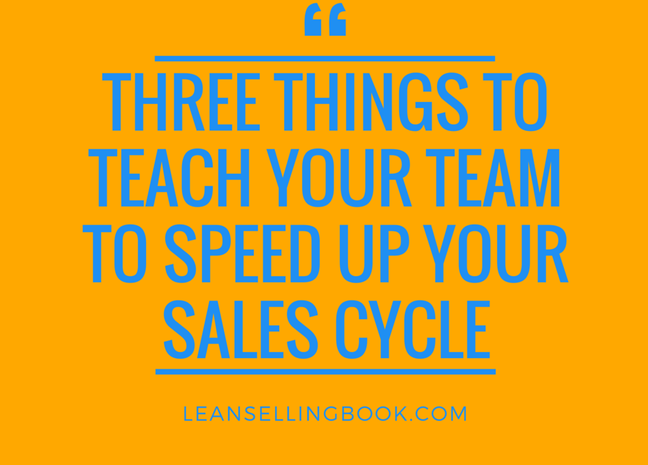 Three Techniques to Teach Your Sales Team About Buyer-Seller Synchronization