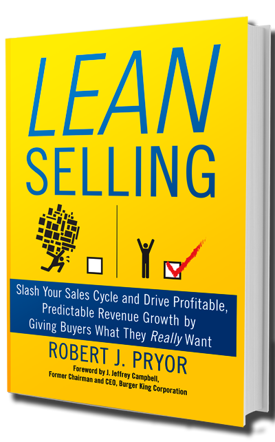 lean selling book cover
