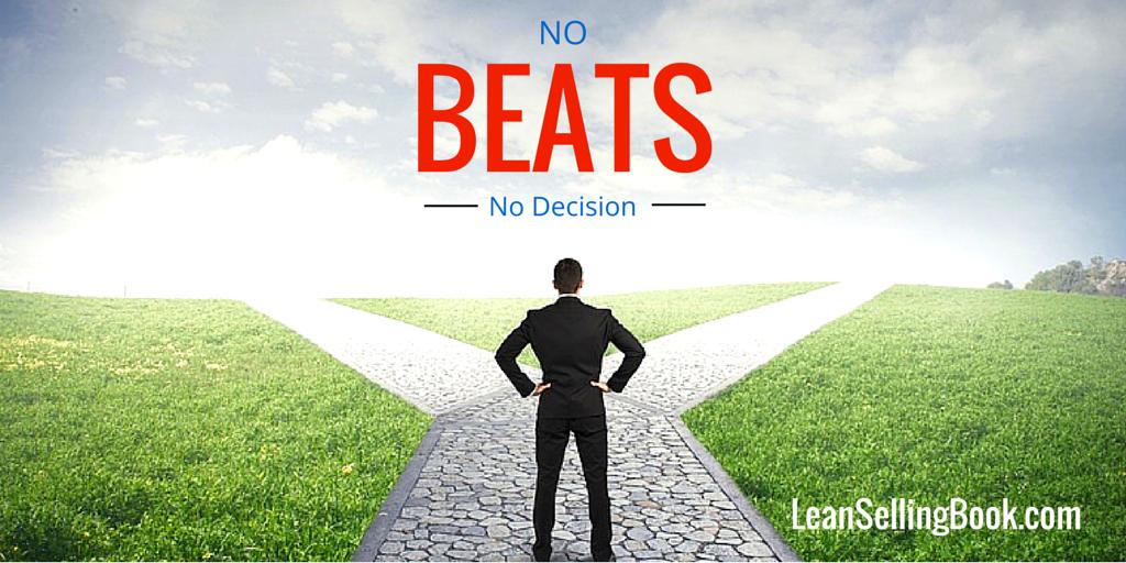 Sales Success: No Beats No Decision