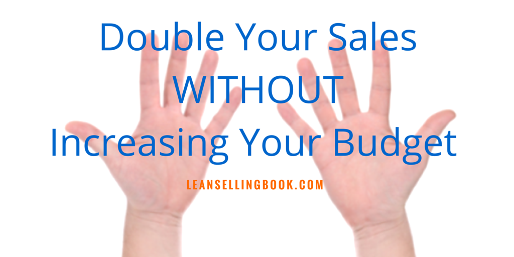 Double Sales without Doubling Your Budget