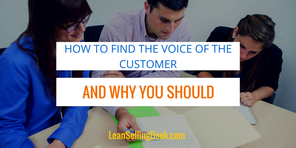 How to Find the Voice of the Customer – And Why You Should