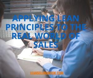 Lean Principles in Sales