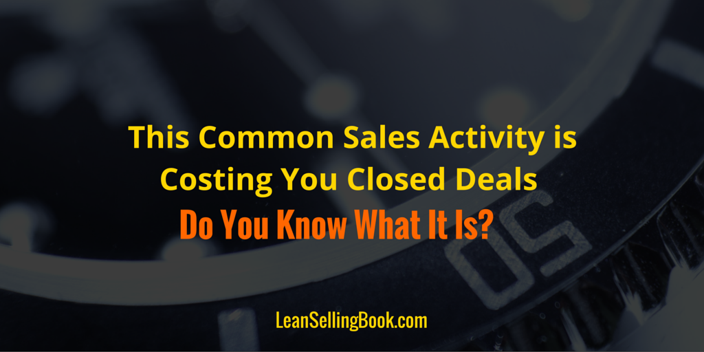 common sales activity
